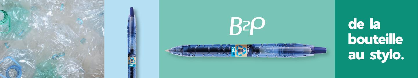B2P Pilot, a partir de bouteilles de plastique recyclées