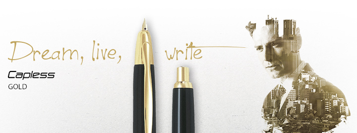 Capless Gold - Pilot Fine Writing