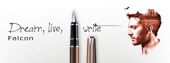 Pilot - Fine Writing - Falcon Brown