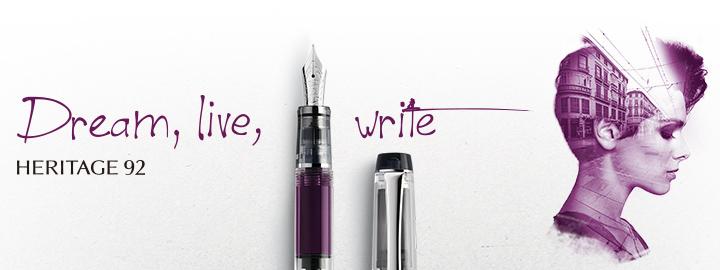 Heritage 92 Purple - Pilot Fine writing