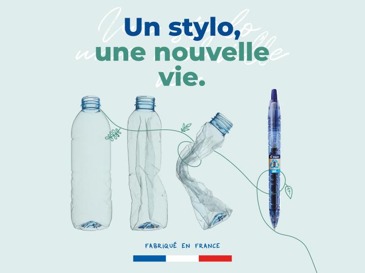 Un stylo une nouvelle vie
