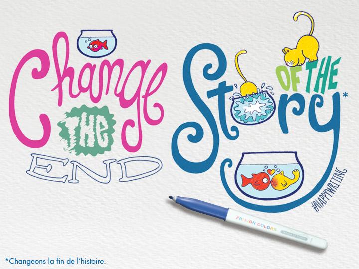 change la fin de l'histoire