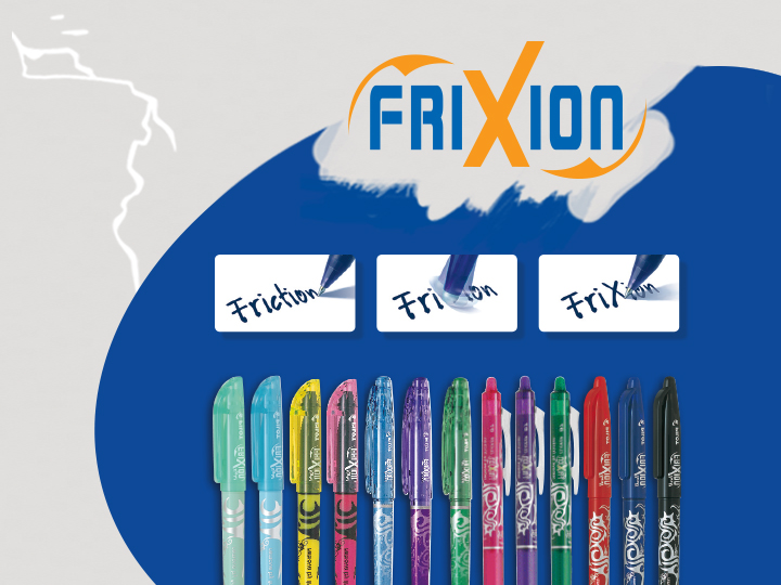 Famille Frixion - Pilot