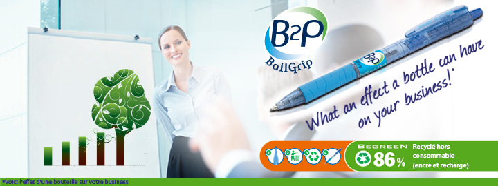 Pilot B2P Ballgrip