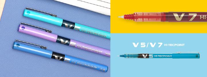 Pilot - Rollers encre liquide - V5/V7 Hi-Tecpoint