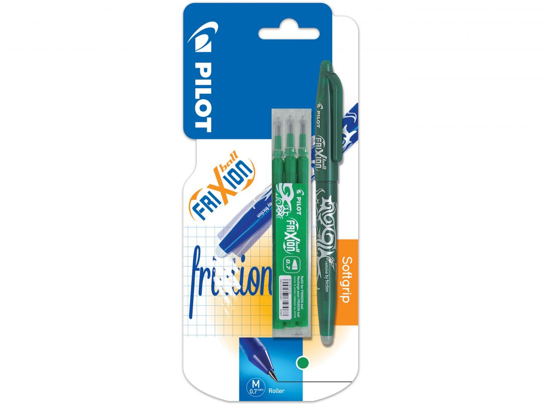 Blister FriXion Ball 0.7 V - Etui 3 Recharges