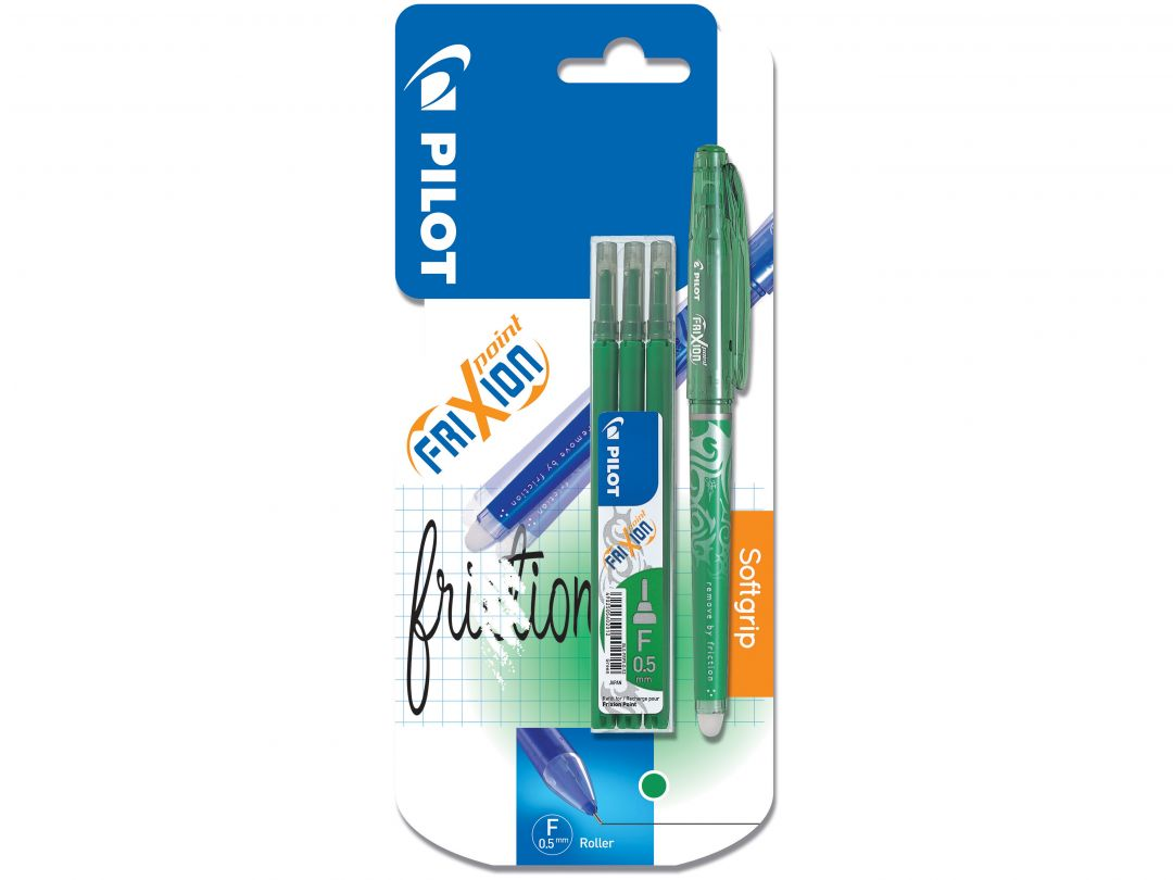Blister FriXion Point 0.5 V - Etui 3 Recharges