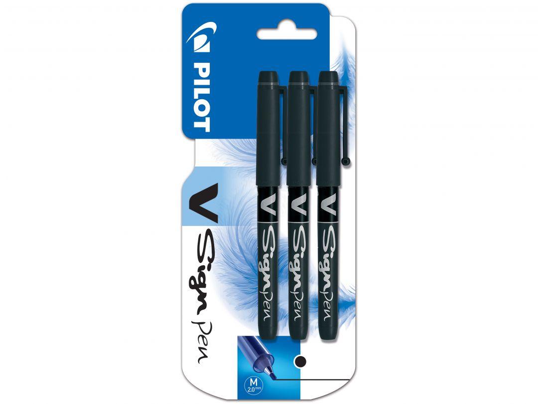 Blister 3 VSign pen 2.0 Noir