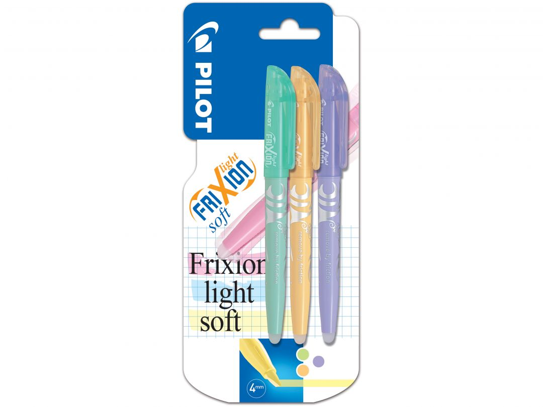 Blister 3 FriXion Light Soft V/O/Vi