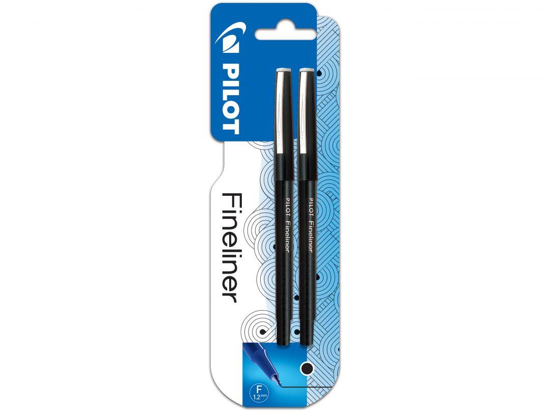Blister 2 Fineliner 1.2 Noir