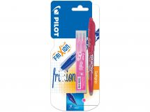 Blister FriXion Ball 0.7 Rose - Etui 3 Recharges