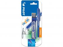 Blister FriXion Point 0.5 Bleu - Etui 3 Recharges