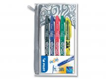 FriXion Family - Roller encre gel - Set de 4 - Couleurs assorties