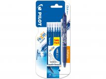 Blister Etui 6 Recharges FriXion 0.7 Bleu - FriXion Clicker
