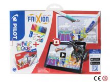 FriXion Colors - Set My FriX Book x 12 V2 - Couleurs assorties - Pointe Moyenne