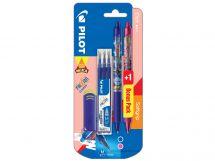 Blis 1+1 FriXion Clicker Mika 0.7 L/P - Set 3 Refills L - Eraser