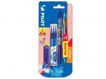Blis 1+1 FriXion Clicker Mika 0.7 L/LB - Set 3 Refills L - Eraser