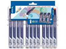 FriXion Fineliner - Set évolutif par 12 - Couleurs assorties - Pointe Fine