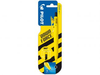 Down Force - Stylo bille - Jaune - Pointe Moyenne
