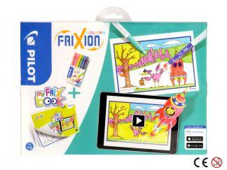 FriXion Colors - Feutre - Set FriX Book x 6 - Pointe Moyenne