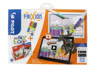 FriXion Colors - Set My FriX Book x 6 V2 - Couleurs assorties - Pointe Moyenne
