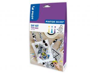 Pilot Pintor - Kit créatif - Sac Personnalisable - Couleurs assorties - Pointe Fine