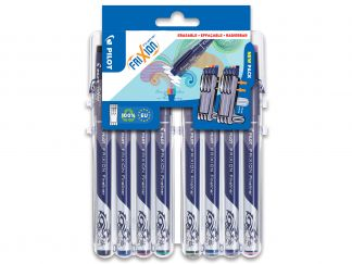 FriXion Fineliner - Set évolutif par 8 - Couleurs assorties - Pointe Fine