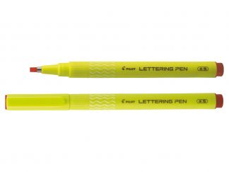 Lettering Pen 30 - Feutre d'écriture - Rouge - Pointe Large