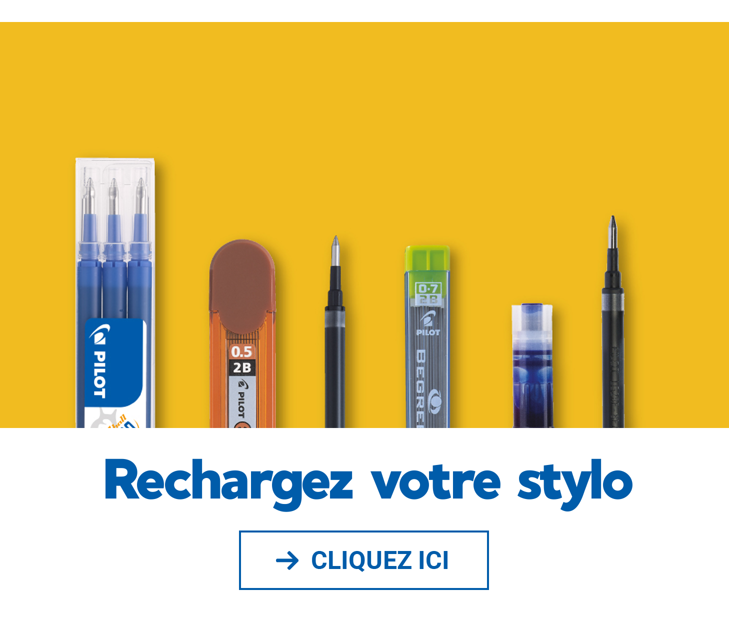 Recharge stylo - Pilot
