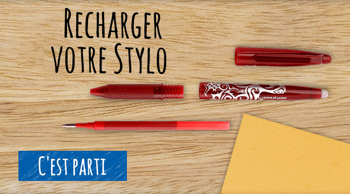 Recharge stylo - Pilot